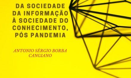 Da sociedade da informação à sociedade do conhecimento, pós pandemia
