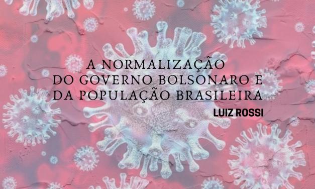 A normalização do governo Bolsonaro e da população brasileira