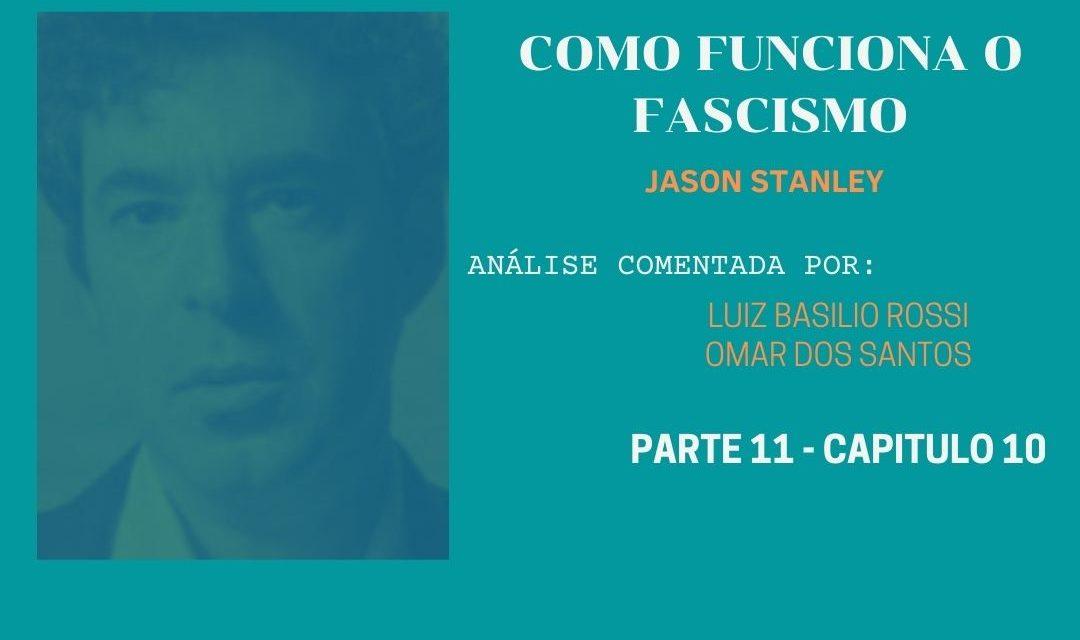 Capítulo 10 – Arbeit mach frei – O trabalho liberta (na política fascista)