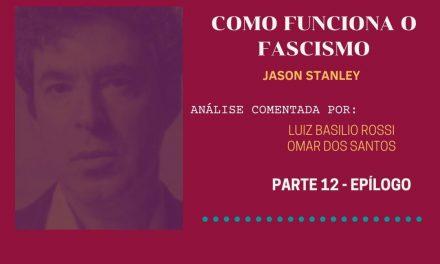 Epílogo (na política fascista)