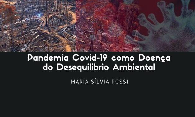 PANDEMIA COVID-19 COMO DOENÇA DO DESEQUILIBRIO AMBIENTAL