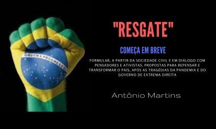"""""""RESGATE"""": cOMEÇA EM BREVE"""